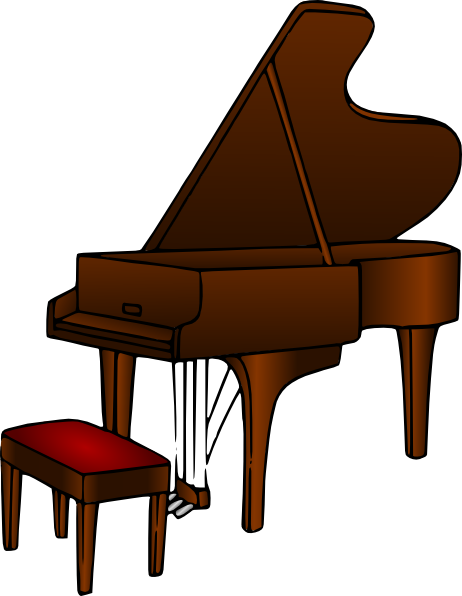Peanut clipart piano Cliparts Organ Keyboard Cliparts and