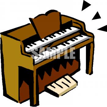 Organs clipart organist Clip instruments free musical Musical