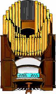 Organs clipart organist Organ Pipe Pipe Art Clip