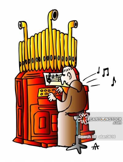 Organs clipart organist Of Cartoons Organ 10 10