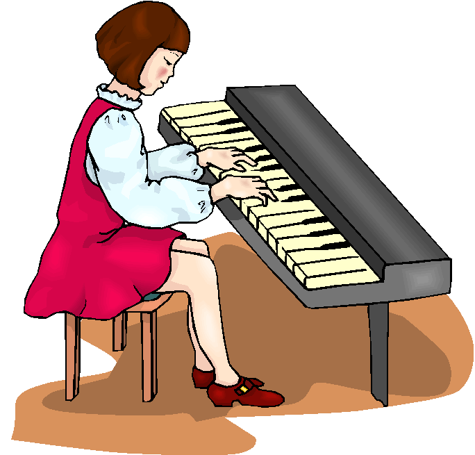 Woman clipart pianist #Piano Related clip art #clipart