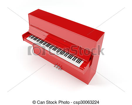 Organs clipart upright piano Isolated Clip piano piano Art
