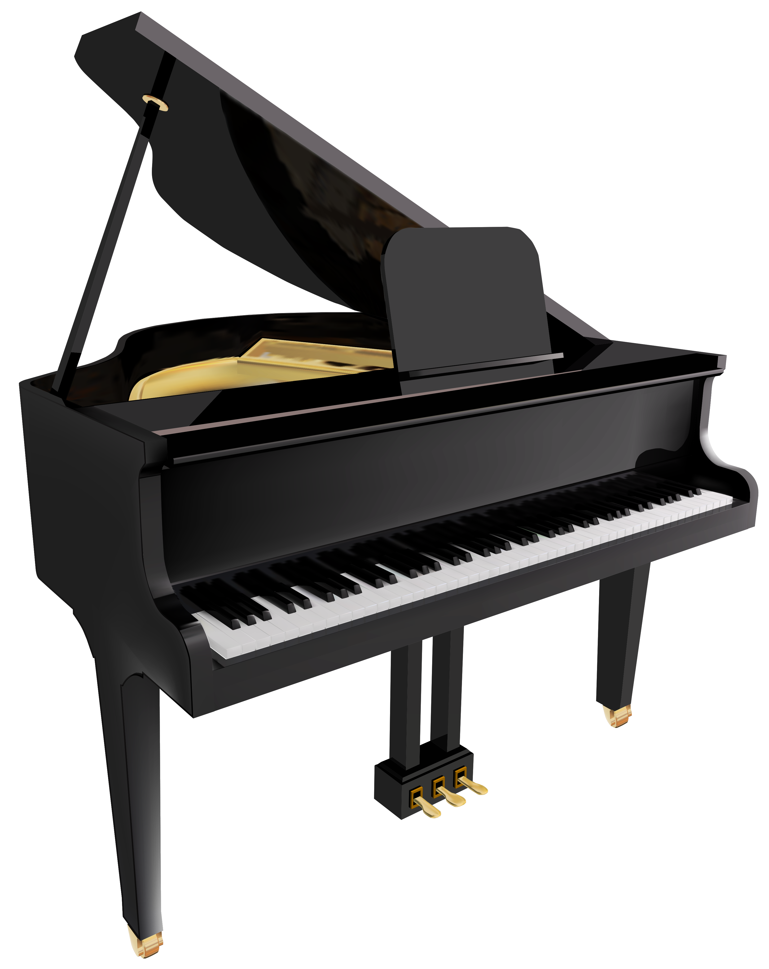 Piano clipart side view Clipartcow free Clipartix Pictures clip