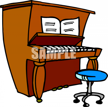 Organs clipart upright piano – 34 101 Piano Piano