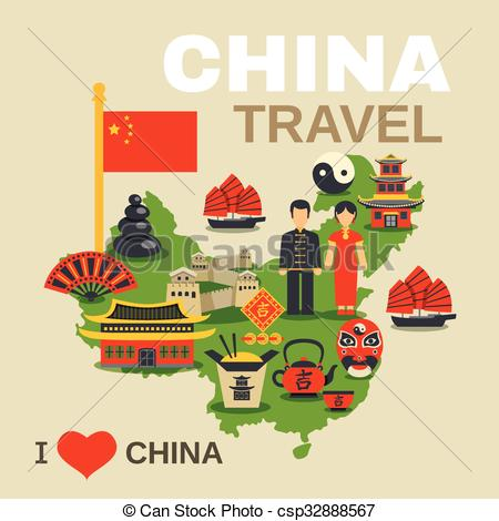 Oriental clipart chinese culture Culture Travel Agency csp32888567 Traditions