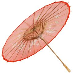 Oriental clipart parasol Red Cherry Parasol Bamboo Blossom