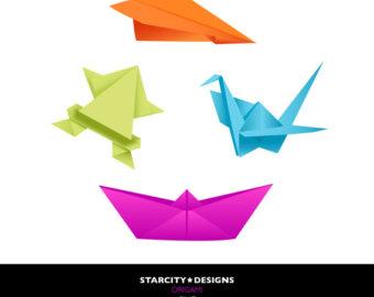 Origami clipart  Origami Clip Clip on
