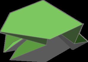 Origami clipart Vector  com art Frog