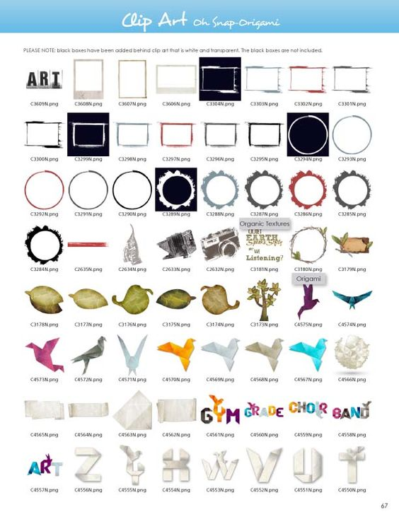 Origami clipart font Pictavo Clipart Pinterest Guide Snap
