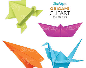 Japanese Crane clipart Boat Japanese art folding folding