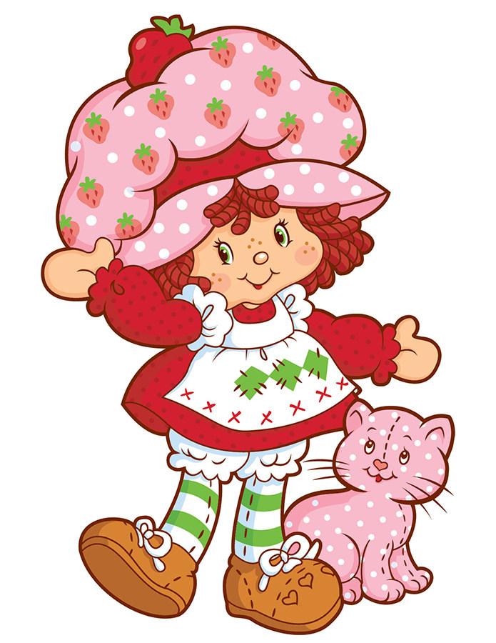 Original clipart strawberry shortcake For Strawberry is original and