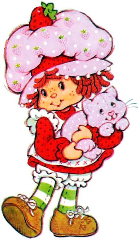 Original clipart strawberry shortcake Strawberry there images Strawberry was
