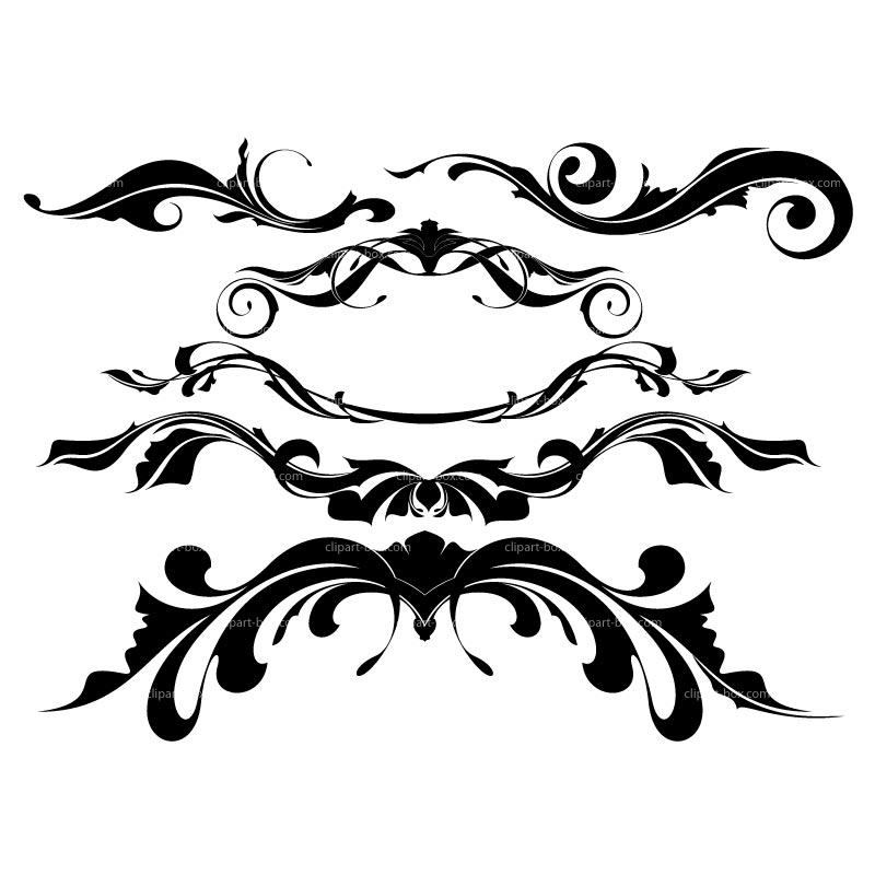 Ornamental clipart #6