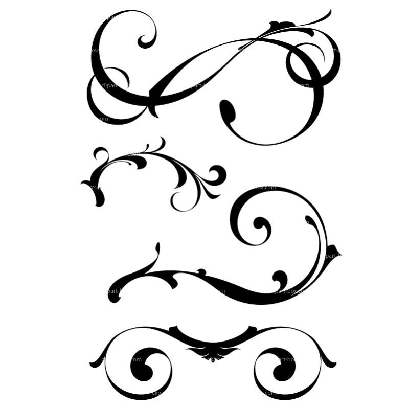 Ornamental clipart #4