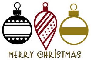 Merry Christmas clipart ornament Christmas%20ornament%20clipart%20black%20and%20white Christmas White  And