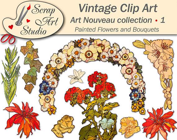 Ornamental clipart botanical #7