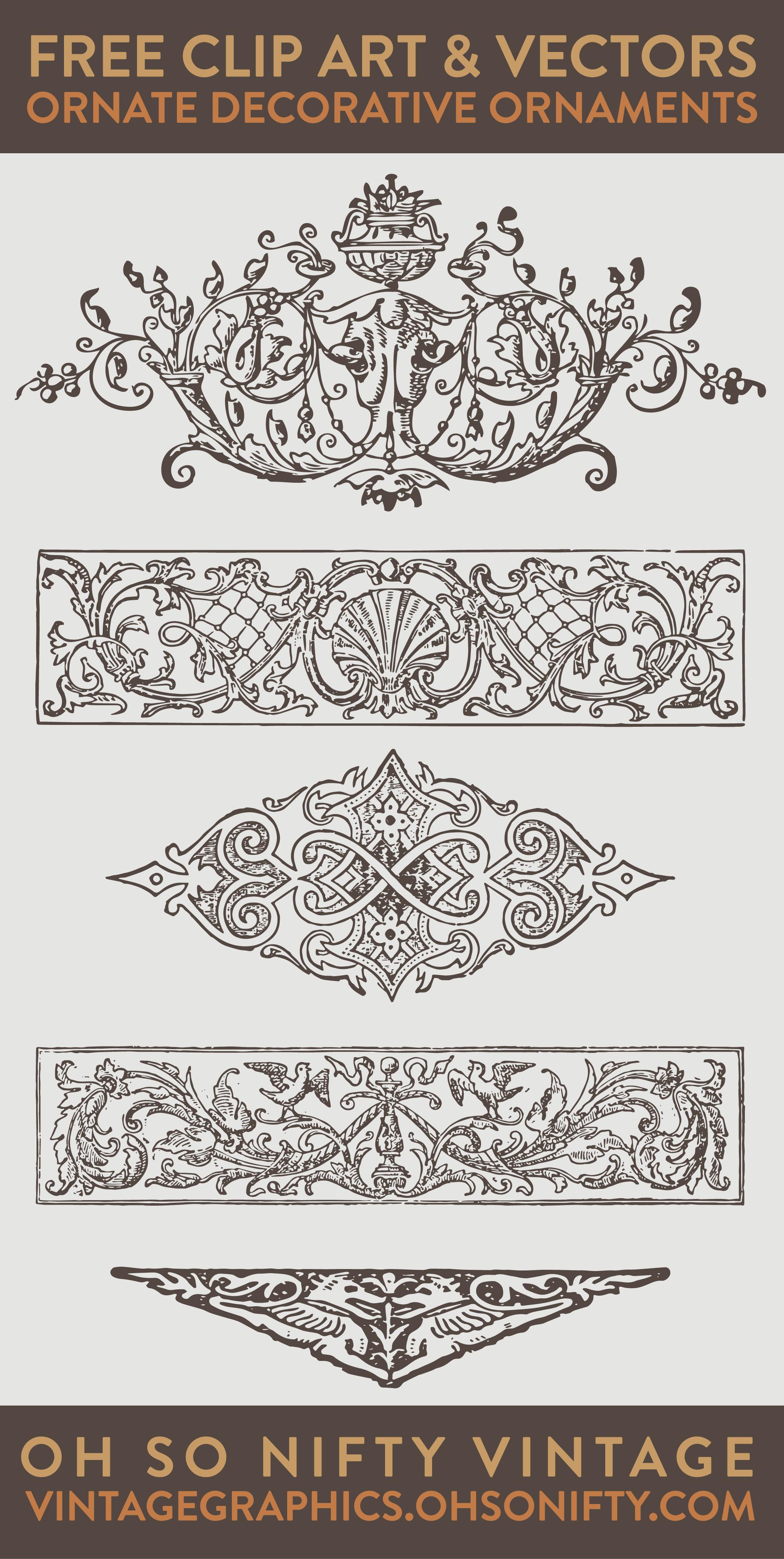 Vector vector ornaments… free vectors