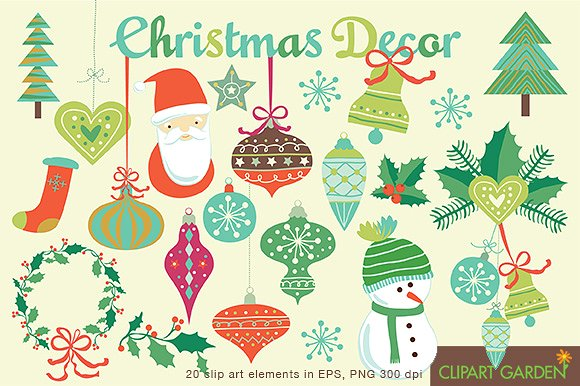 Ornamental clipart graphic design Holiday Projects Inspire 50 Christmas