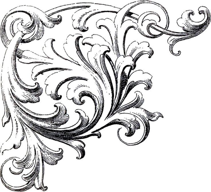 Ornamental clipart graphic design Clip Art Art Images Scrolls