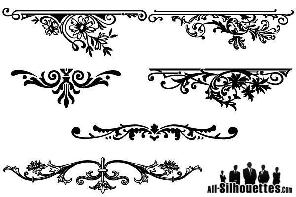 Ornamental clipart graphic design Download Clip Border Need Flower