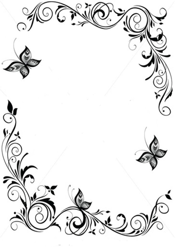 Ornamental clipart single line border Microsoft ideas and Frames and