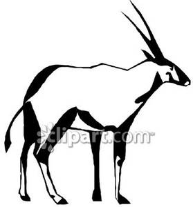 Oryx clipart And White Royalty Picture Clipart