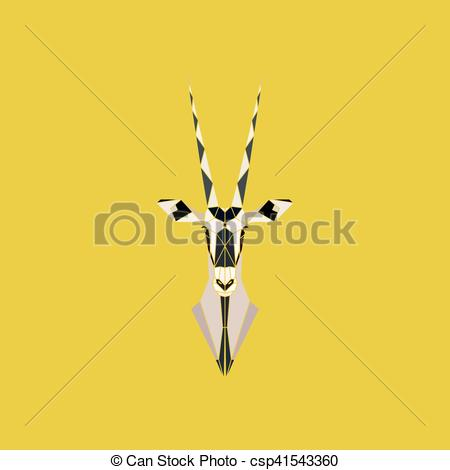Oryx clipart cartoon Antelope  of oryx Art