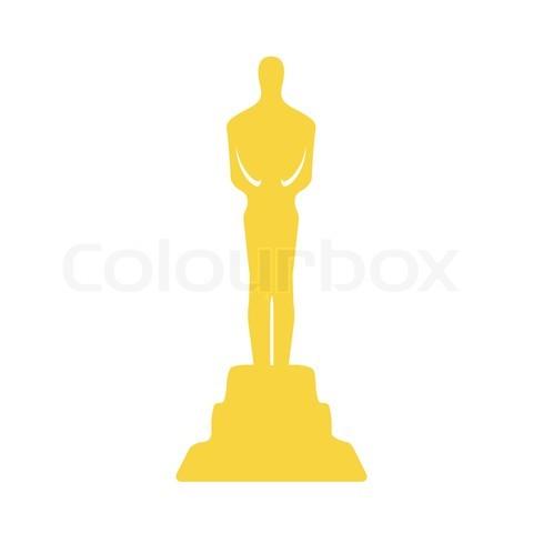 Oscar clipart  award Clipart movie Trophy