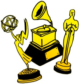 Oscar clipart grammy With Documentary Grammy and Globe