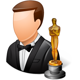 Actor clipart playwright Oscar man people collection clipart