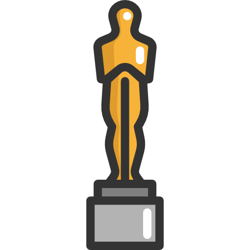 Oscar clipart prize Awards trophy academy icon Oscars