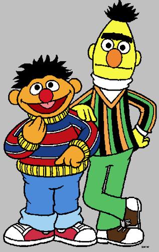 Oscar The Grouch clipart ernie Bert Images Ernie and +