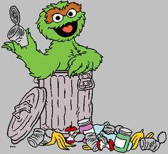 Trash clipart oscar the grouch Wall an Oscar might Grouch