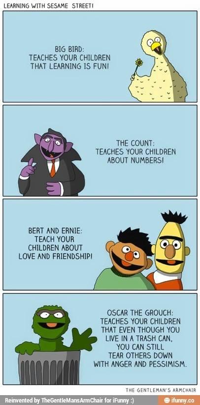 Oscar The Grouch clipart ernie The Pinterest grouch the wisdom