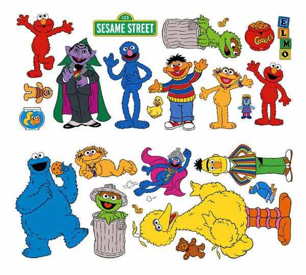Oscar The Grouch clipart ernie Sesame clipart street Personalized Street