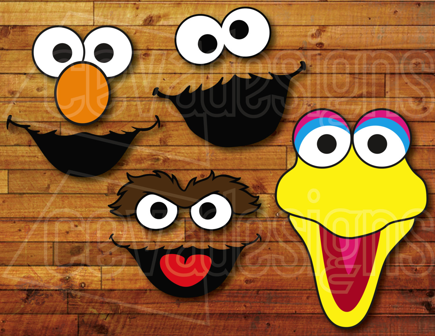 Sesame Street clipart balloon Street the Party Sesame clipart