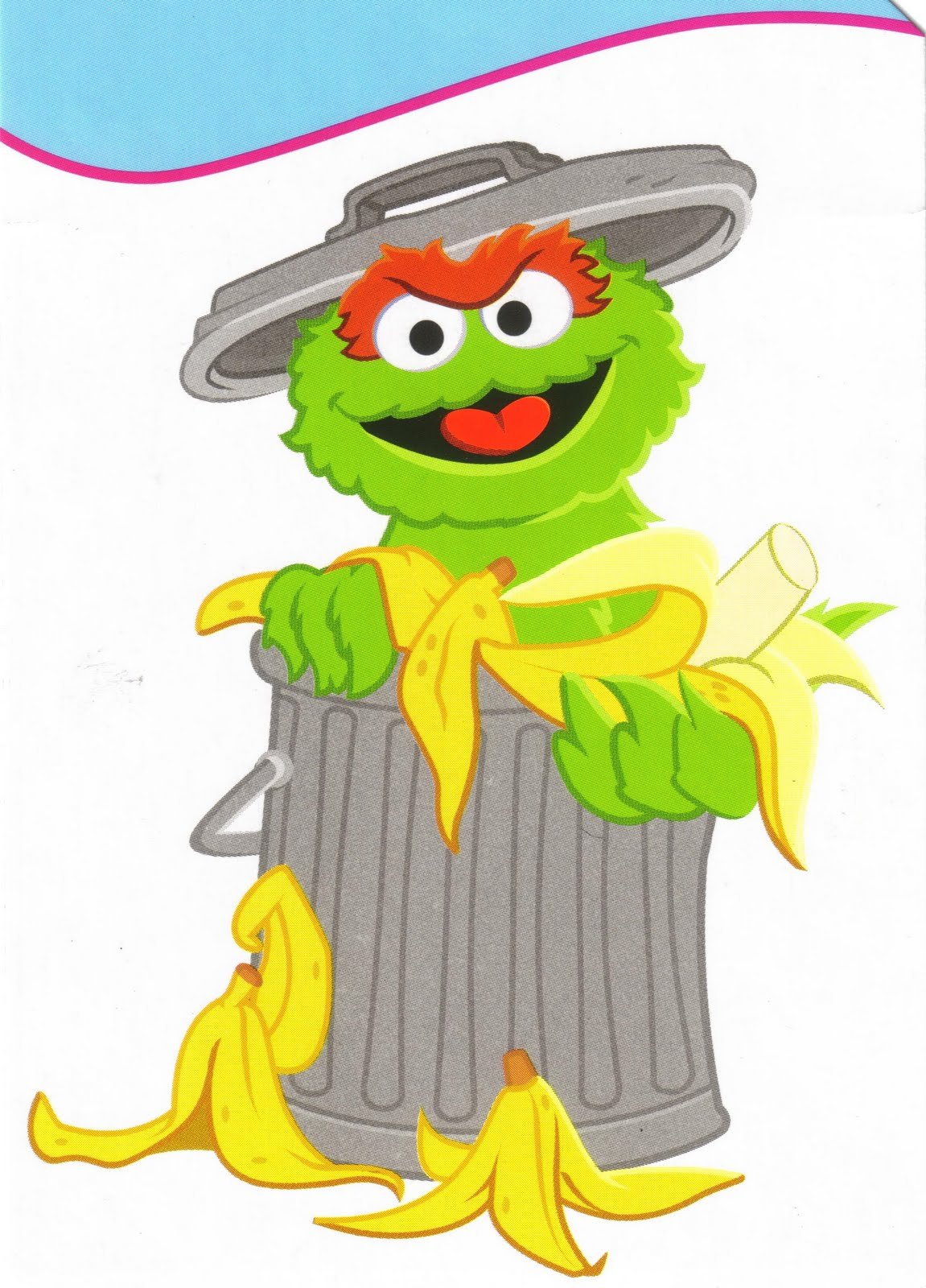 Oscar The Grouch clipart head The Grouch So can Composting