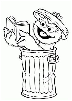 Oscar The Grouch clipart head Art television Muppet seseme character