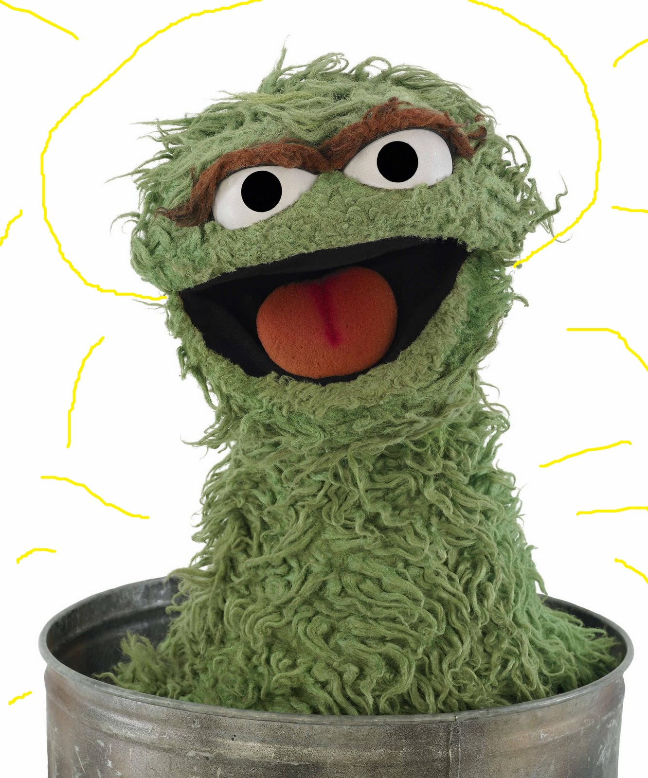 Oscar The Grouch clipart head  Hat? Oscar Oscar Wear