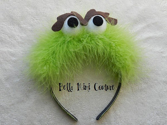 Oscar The Grouch clipart head Grouch Headband Street Oscar Oscar