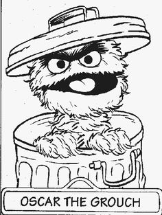 Oscar The Grouch clipart head Trash