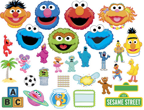 Sesame Street clipart zoey Frames DOWNLOAD INSTANT And Clip