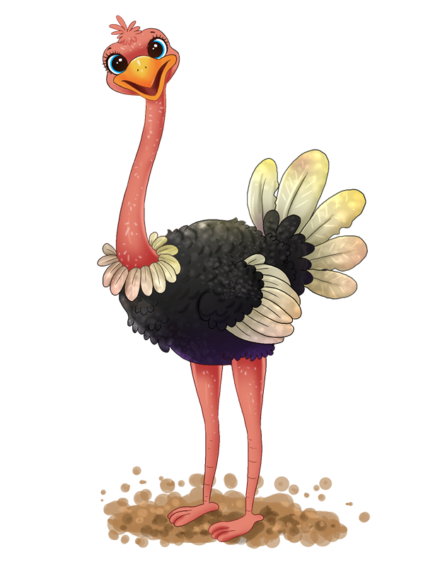 Ostrich clipart To Art Clip & Free
