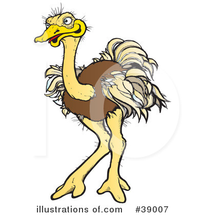 Ostrich clipart angry Ostrich #39007 Free Illustration (RF)