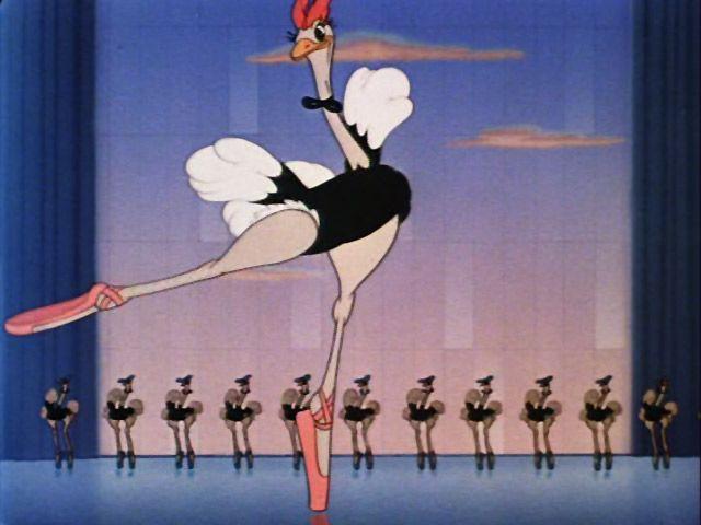 Ostrich clipart disney Fantasia fantasia ostrich Disney clipart
