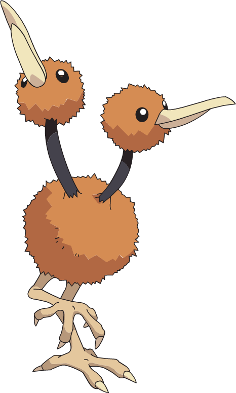 Ostrich clipart pokemon 0 evolution Doduo locations &