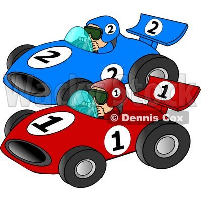 Ferarri clipart racetrack #1