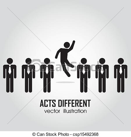 Other clipart different person Csp15492368 Clip of  in