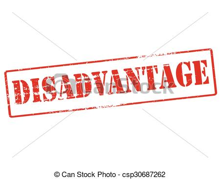 Other clipart disadvantage Disadvantage word Clip  of