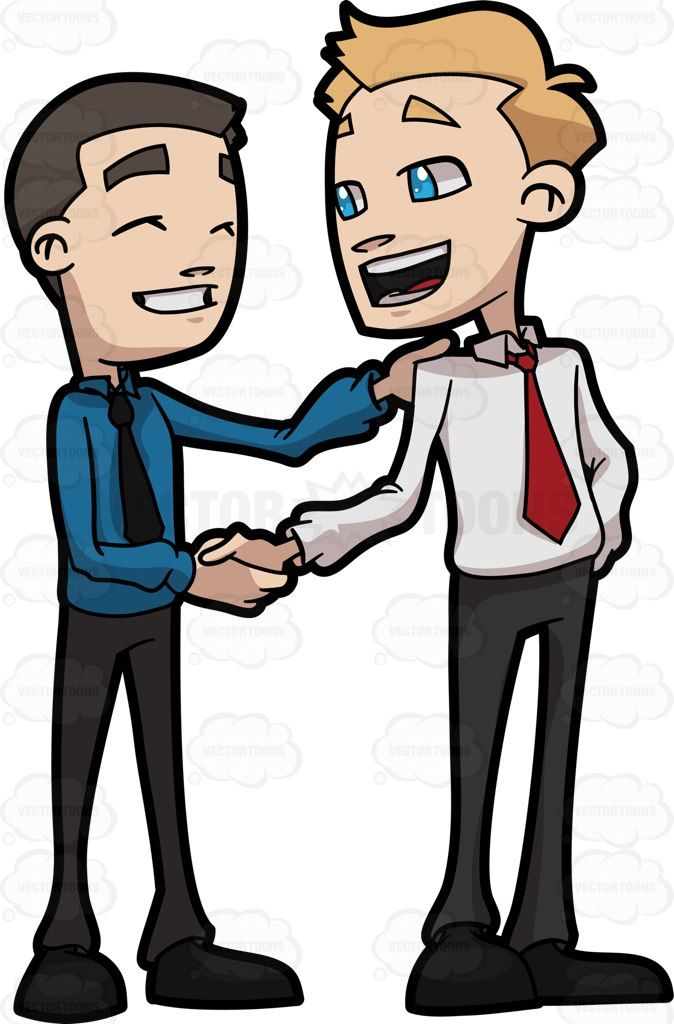 Other clipart friend The Conversation between Business two